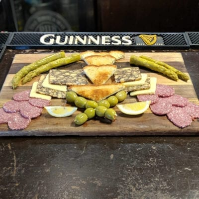 Charcuterie Board served at brockway irish pub in carmel