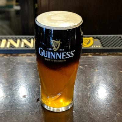 Guinness Draft Mixes served at brockway irish pub in carmel