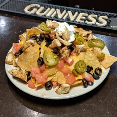 Irish Nachos served at brockway irish pub in carmel
