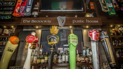 beers on tap served at brockway irish pub in carmel