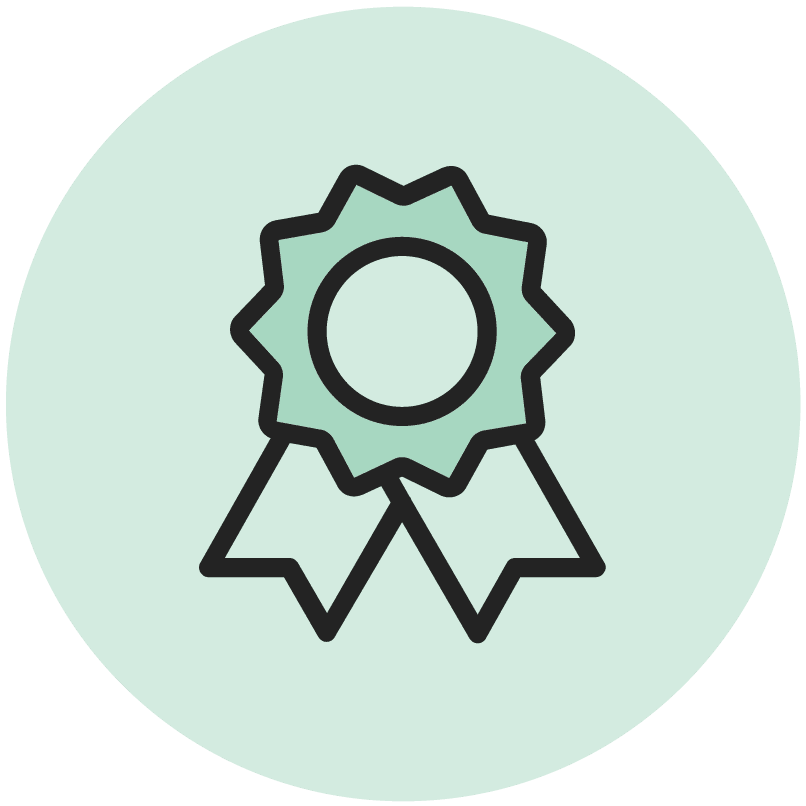 green ribbon icon