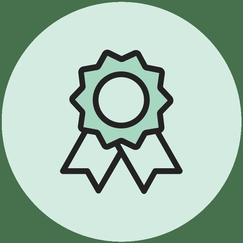 green ribbon icon